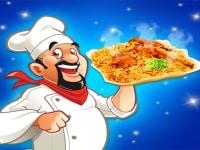 הכנת אוכל מתכון ביריאני