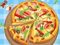 הכנת פיצה
