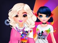 בנות טיקטוק מול בנות לייק